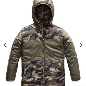 The North Face True or False Camo Reversible Coat